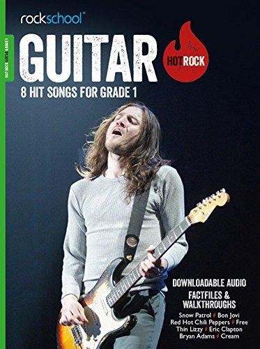 Rockschool: Hot Rock Guitar - Grade 1 (Book/Audio Download) por Various
