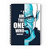 #10: Epheriwala Breaking Bad Spiral Notebook - A5, 80GSM, 160 Pages, Unruled, Soft Cover (300 GSM)