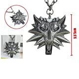 The Witcher Wild Hunt medallion collier 5,5cm médaillon