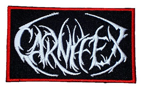 CARNIFEX Death Metal Band Logo t Shirts MC03 Embroidery Iron On Patches by MartOnNet Music Patch