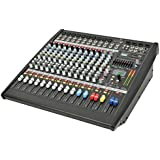 Citronic 600 W CLP1200 12-Channel Powered Mixer Amplifier