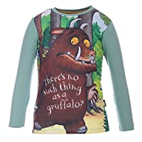 Boys Grüffelo Shirt, green, size 104, 4 years