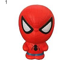 WIN86haib Super Hero Spiderman Hulk Ironman Slow Rising Squishy Stress Reliever Toy Gift