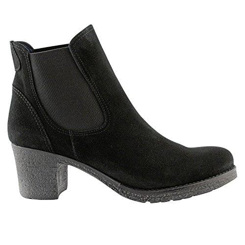 Exclusif Paris  Exclusif Paris Edwige, Chaussures femme Bottines femme,  Damen Stiefel & Stiefeletten Schwarz - Schwarz