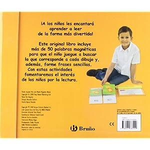 Juega con las palabras (Castellano - A Partir De 3 Años - Manipulativos (Libros Para Tocar, Jugar Y Pintar), Pop-Ups - Libros Con Imanes)