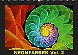 Neonfarben Vol. 2 / CH-Version (Wandkalender 2019 DIN A2 quer): Ein Fraktalkunstkalender für junge und junggebliebene Leute (Monatskalender, 14 Seiten ) (CALVENDO Kunst)