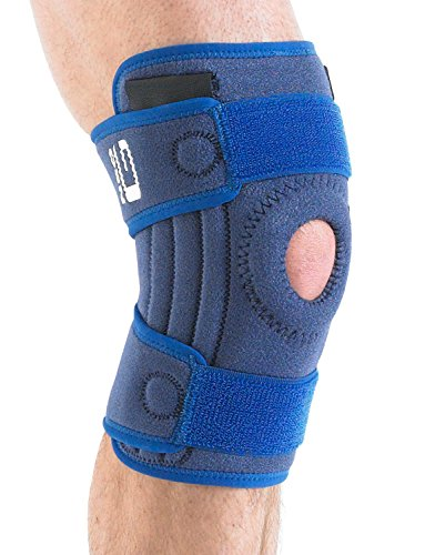 00677dd8b2 NEO G Stabilized Open Knee Support - Medical Grade Quality, x4 flexible  stays for added