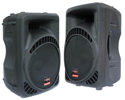 """2x 600W DJ PA Aktiv Lautsprecher Paar Aktivboxen Set 12\"""" E-Lektron 12600MA"""
