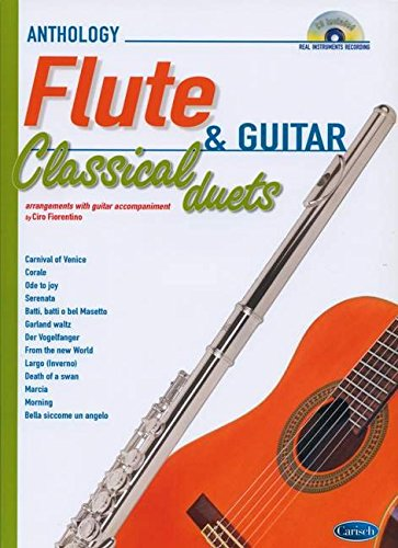 CLASSICAL DUETS FOR FLUTE AND GUITAR VOL. 1: Anthology Duets