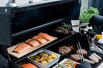 Grill-Zubehör / Gewürze-Set zum Grillen für Männer + Frauen / das BBQ Geschenk für SIE und IHN