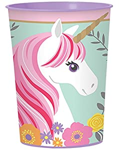 Amscan International 421929 - Taza de unicornio mágico