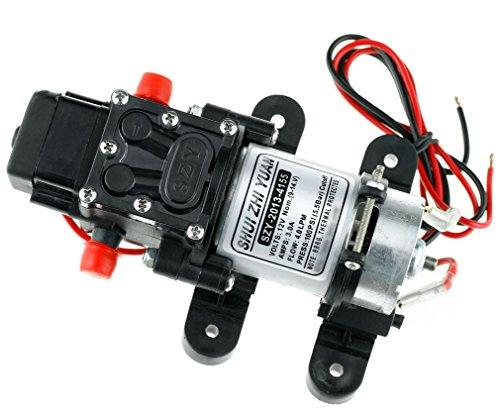 Preisvergleich Produktbild 100PSI 4L/Min Hochdruck-Membranpumpe Druckwasserpumpe Wasserpumpe Frischwasserpumpe 12V Für Auto Marine Yacht Boat
