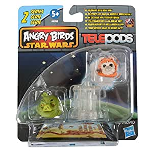 Childrens Angry Birds Star Wars TelePods Series 2 - Jabba Pig + Assorted Figure