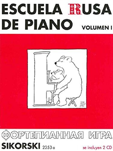 Escuela rusa de piano Volumen 1. Con 2 CD (Grabaciones)