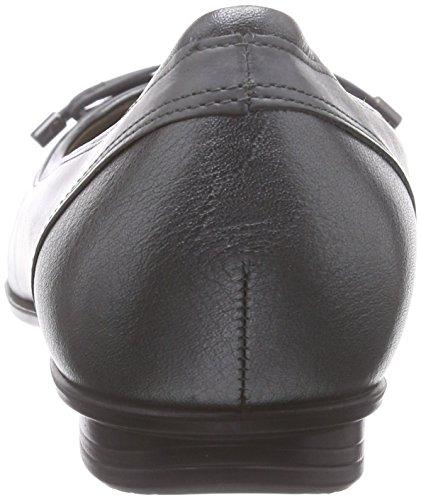 ECCO Touch, Ballerine Donna Grigio(Dark Shadow Metallic/Titanium 59528)