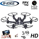 s-idee 01535 Quadrocopter MJX X800 Wifi HD Kamera MJX C4010 in 720p High Definition mit Tonaufzeichnung, Gravity-Mode 2.4 GHz, 4-Kanal, 6-AXIS Stabilization System
