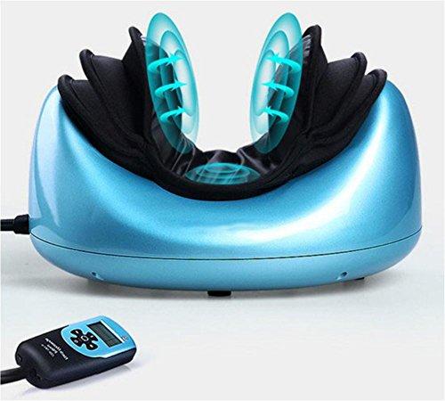 Meylee Elektrische Cervical Massagegerät Drei-Schicht-Airbag Massage Vibrieren / Heizen Multifunktions Massage Kissen - Körper Wieder Com-massagegerät