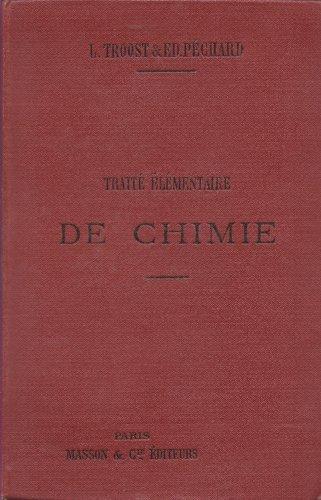 Traité élémentaire de Chimie