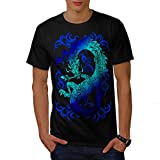Fantasy Dragon Throne Myth Game Men NEW Black White Grey Red Royal Blue S-5XL T-shirt | Wellcoda