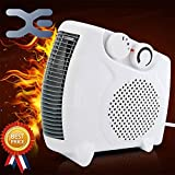 #6: Salute Warriors Fan Heater Heat Blow || Silent Fan Room Heater (White)