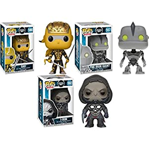 Funko POP Ready Player One Shoto The Iron Giant i Rok Stylized Vinyl Figure Bundle Set NEW