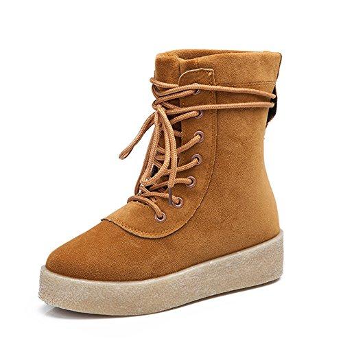 XTIAN , chaussures compensées femme Kaki