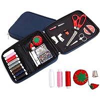lzndeal Kit de Couture avec trousse à coudre Accessoires Couture Kit de Couture Complet Professionnel pour maison voyage