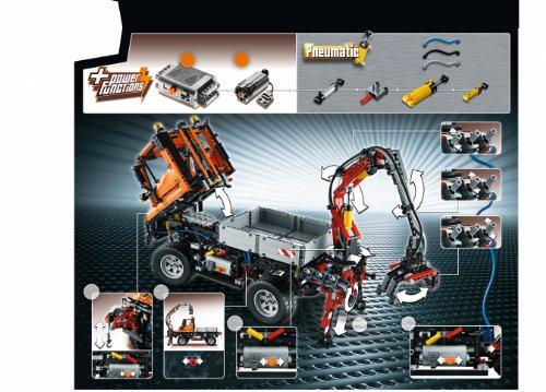 LEGO Technic 8110 – Unimog U400 - 9