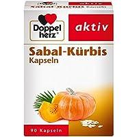 Doppelherz Sabal-Kürbis Kapseln – Pflanzliches Arzneimittel mit der Kombination aus Arzneikürbis und Sägepalmenfrüchten... preisvergleich bei billige-tabletten.eu