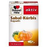 Doppelherz Sabal-Kürbis Kapseln – Pflanzliches Arzneimittel mit der Kombination aus Arzneikürbis und Sägepalmenfrüchten zur Stärkung der Blase – 1 x Großpackung mit 90 Kapseln