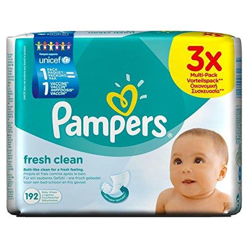 Preisvergleich Produktbild Pampers Fresh Clean Feuchte Tücher 3x64 Stück