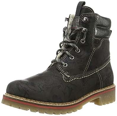 s.Oliver Damen 26239 Combat Boots, Gelb (Corn 604), 42 EU