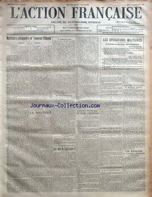 ACTION FRANCAISE (L') [No 259] du 16/09/1915 -...