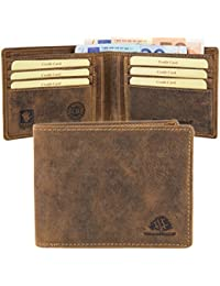 Greenburry Vintage Porte-monnaie cuir 12,5 cm brown