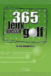 365 jeux spécial golf : Un jeu chaque jour !