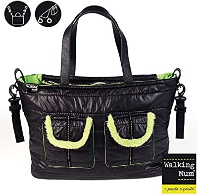 WALKING MUM - Bolsa Canastilla Walking Mum Nero Verbier negro