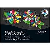 URSUS 11396499se–Bloc de cartón fotográfico A6Edición Especial Metallic, 300g/m², 60hojas surtidos en 3colores