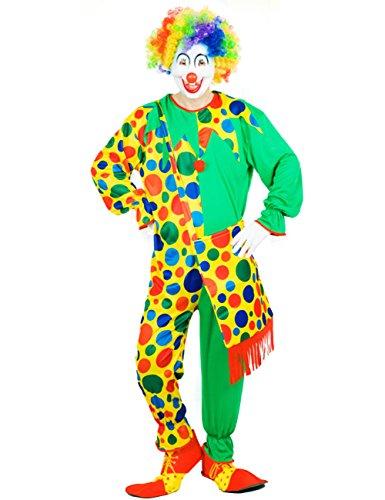 THEE Clown Kostüm Halloween Cosplay Karneval Fasching Fastzeit (Frauen Für Jester Kostüm Halloween)