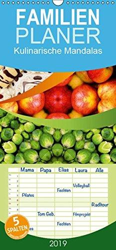 Kulinarische Mandalas - Familienplaner hoch (Wandkalender 2019 , 21 cm x 45 cm, hoch): Köstliche Leckerbissen neu interpretiert (Monatskalender, 14 Seiten ) (CALVENDO Lifestyle) (Tomaten-sushi)