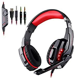 casque gamer pour ps4 kingtop each g9000 casque gaming headset ecouteur avec micro et. Black Bedroom Furniture Sets. Home Design Ideas