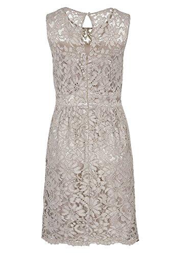 APART Fashion 58366 - Robe - Femme Marron - Marron (taupe)
