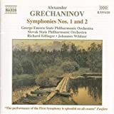"""Symphonies n° 1 en si mineur, op 6 & n° 2 """" Pastorale """", en la majeur, op 27"""