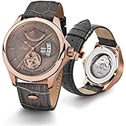 Kronsegler Genius - Horarium Mechanicus - Automatic rosegolden-umbra
