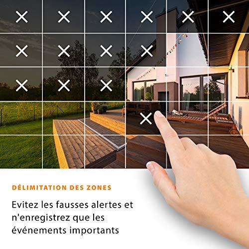 51j0SpDp9dL [Bon Plan Netatmo] Smartwares Guardian CIP-39901 - Caméra de surveillance connectée avec éclairage intégré, alarme et audio 2 Voies