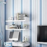 yhyxll Papel Pintado no Tejido Moderno Minimalista Rayas Verticales Rosa Azul Papel Pintado Dormitorio Sala de Estar Hotel habitación Infantil Papel Pintado 2