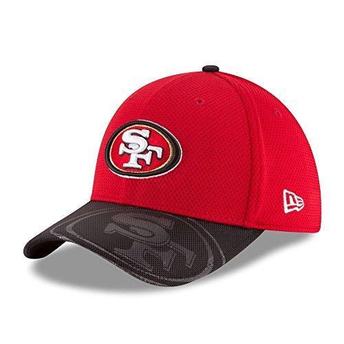 0c9999a6860fd San Francisco 49ers New Era On-Field Sideline 39THIRTY Flex Fit Hat cap