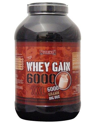 NutrinaX Whey Gain 6000