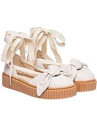 PUMA sandalia modelo 365794 Bow Creeper Sandals Pink