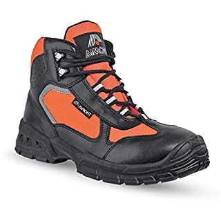 Aimont Life S3 High Vis Leather, Water-Resistant Safety Boot (11 UK)