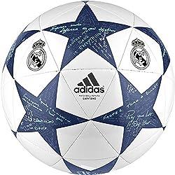 adidas Finale16Real MadridCap - Balón de fútbol, color blanco, talla 5